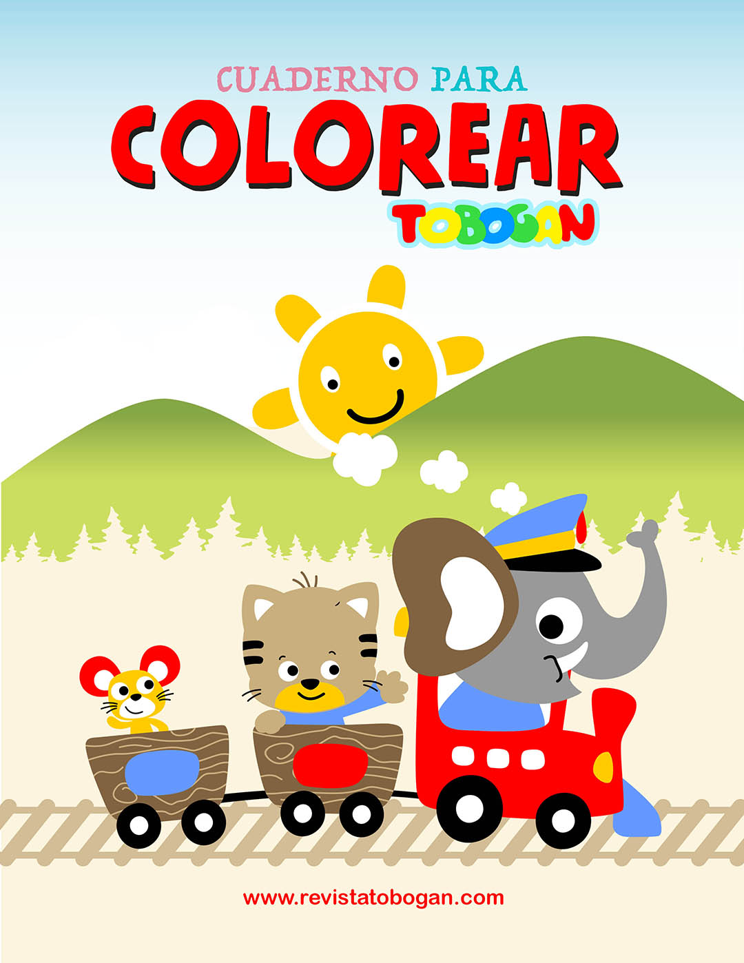 Tobogan Para Colorear
